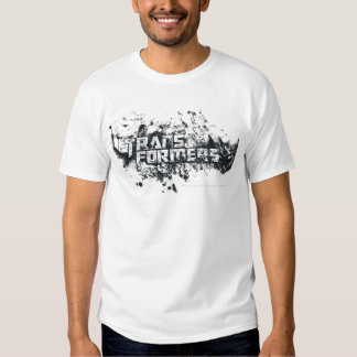 Transformers Logo Distressed T-Shirt