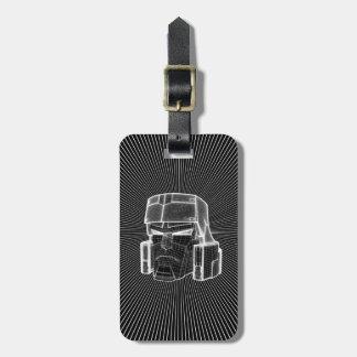 Transformers | Megatron 3D Model Bag Tag
