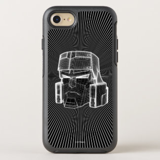 Transformers | Megatron 3D Model OtterBox Symmetry iPhone 8/7 Case
