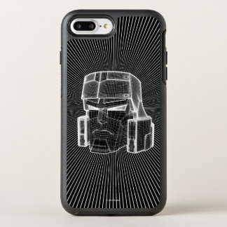 Transformers | Megatron 3D Model OtterBox Symmetry iPhone 8 Plus/7 Plus Case