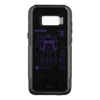 Transformers | Megatron Leader of the Decepticons OtterBox Commuter Samsung Galaxy S8+ Case