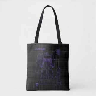 Transformers | Megatron Leader of the Decepticons Tote Bag