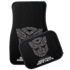 Transformers | More Than Meets The Eye Car Floor Mat at Zazzle