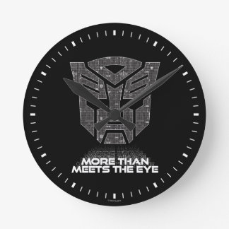 Transformers | More than Meets the Eye Round Clock