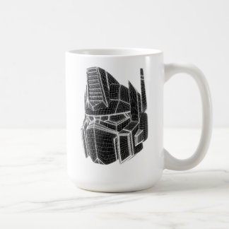 Transformers | Optimus Prime 3D Model Coffee Mug