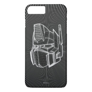 Transformers | Optimus Prime 3D Model iPhone 8 Plus/7 Plus Case