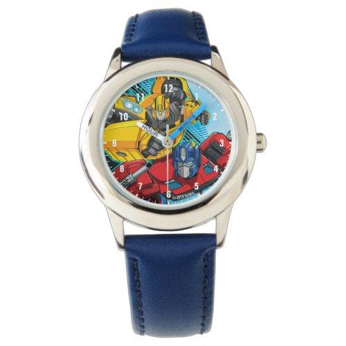 "Transformers   Optimus Prime & Bumblebee ""Battle"" Watch"