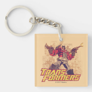 Transformers | Optimus Prime - Comic Book Sketch Keychain