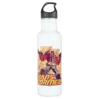 Transformers | Optimus Prime - Comic Book Sketch Stainless Steel Water Bottle
