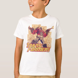 Transformers | Optimus Prime - Comic Book Sketch T-Shirt