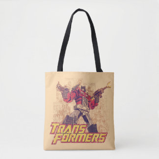 Transformers | Optimus Prime - Comic Book Sketch Tote Bag