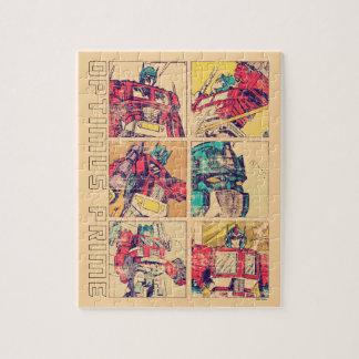 Transformers | Optimus Prime Comic Strip Jigsaw Puzzle