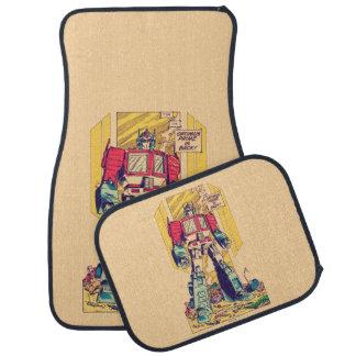 Transformers | Optimus Prime is Back Car Mat