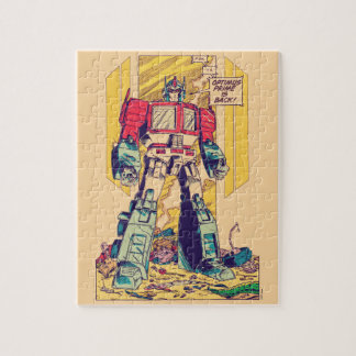 Transformers | Optimus Prime is Back Jigsaw Puzzle