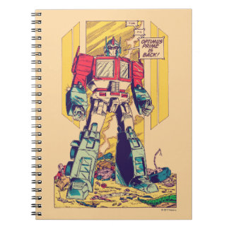 Transformers | Optimus Prime is Back Notebook