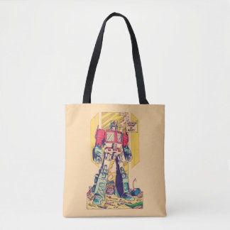 Transformers | Optimus Prime is Back Tote Bag