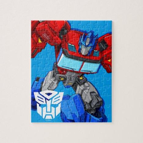 Transformers | Optimus Prime Running Pose - Kids