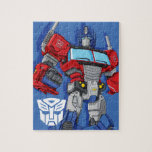 "Transformers | Optimus Prime Standing Pose Jigsaw Puzzle<br><div class=""desc"">Check out this Generation 1 Transformers Optimus Prime character art posed standing tall with fists clenched.</div>"