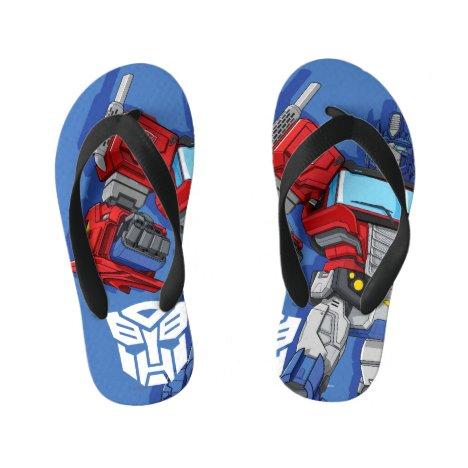 Transformers | Optimus Prime Standing Pose Kid's Flip Flops
