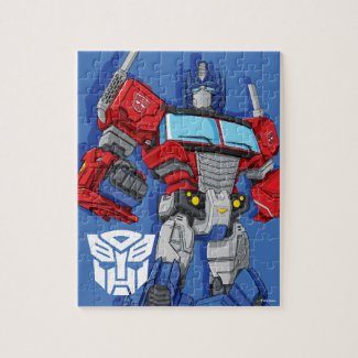 Transformers | Optimus Prime Standing Pose - Kids Jigsaw Puzzle