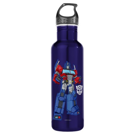 Transformers | Optimus Prime Standing Pose Stainless Steel Water Bottle