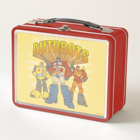 Transformers   Retro Autobots Group Graphic