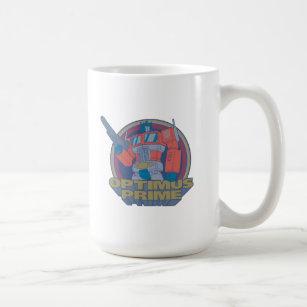 Retro Design Robo-Battle Robot Boxing Mug Choose Colour