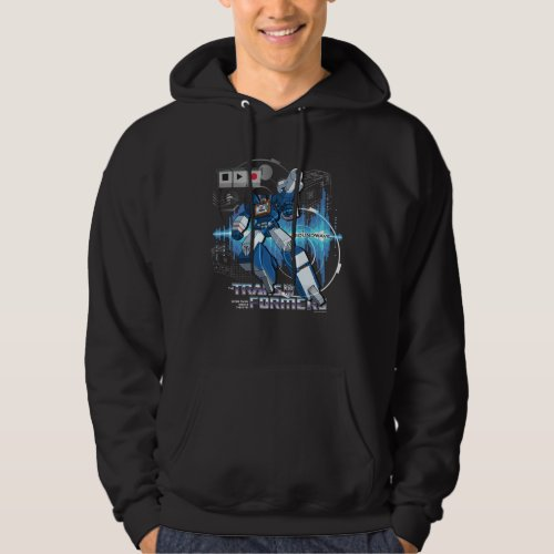 Transformers  Soundwave Iconography Collage Hoodie