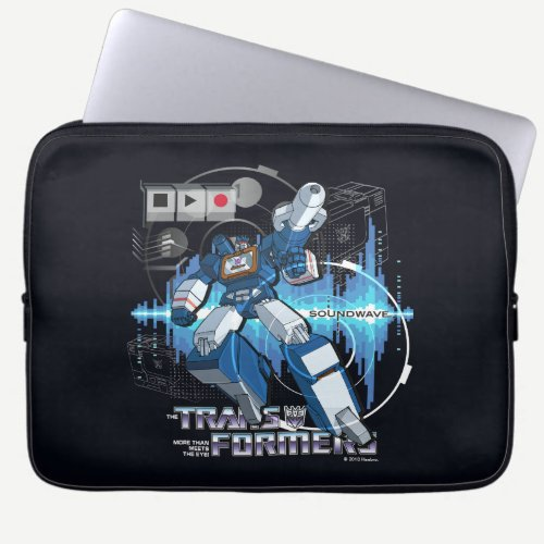 Transformers | Soundwave Iconography Collage Laptop Sleeve
