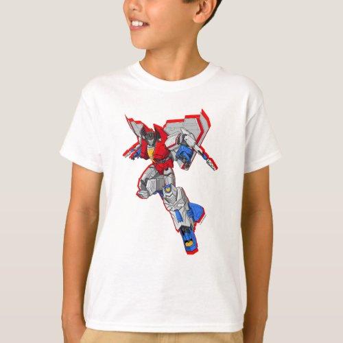 Transformers  Starscream Hovering Pose T_Shirt