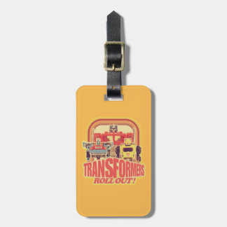 Transformers | Transformers Roll Out Bag Tag