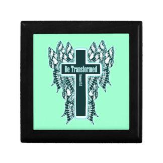Transfórmese - 12:2 de los romanos joyero cuadrado pequeño