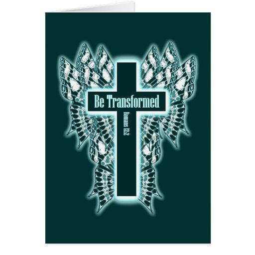 Transfórmese - 12:2 de los romanos tarjeton