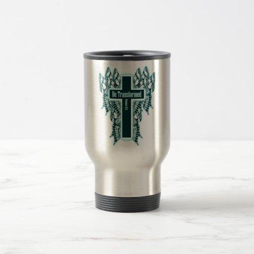 Transfórmese - 12:2 de los romanos taza de viaje