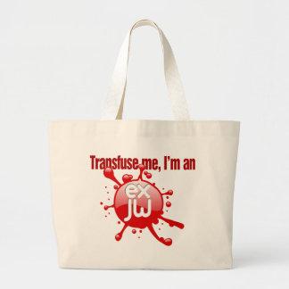 Transfuse Me Tote Bag