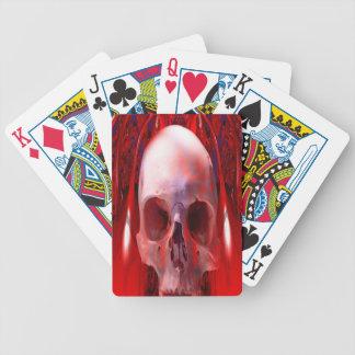 Transfusión del cráneo baraja de cartas