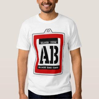 Transfusion pack (AB type) T-shirt
