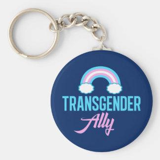Transgender Ally Keychain