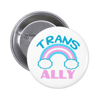 Transgender Ally Pinback Button
