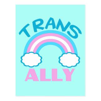 Transgender Ally Postcard