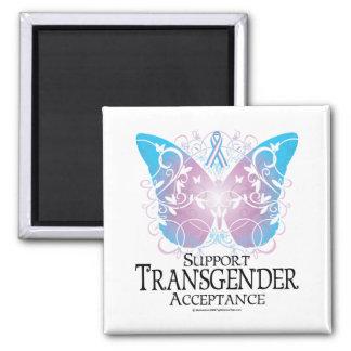 Transgender Butterfly Magnet