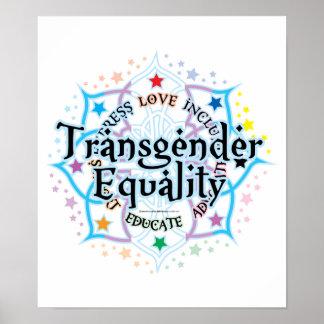 Transgender Equality Lotus Poster
