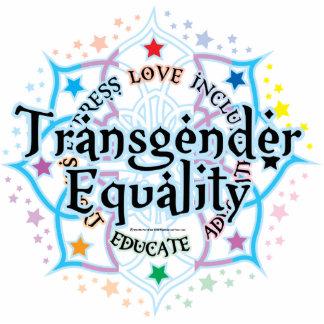 Transgender Equality Lotus Statuette