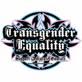 Transgender Equality Tribal Cutout