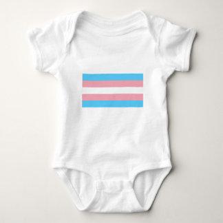Transgender Flag Baby Bodysuit