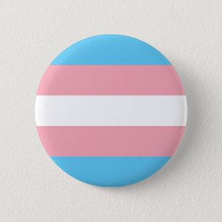 Transgender Flag Button -