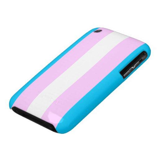 Transgender flag case iPhone 3 cover