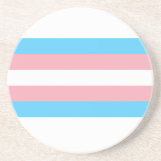 Transgender Flag Coaster