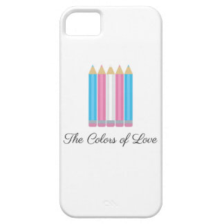 Transgender Flag Colors of Love iPhone SE/5/5s Case