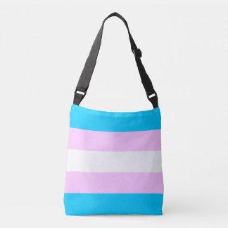 Transgender Flag Crossbody Bag